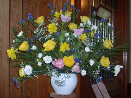 Kiltarlity Easter Flowers